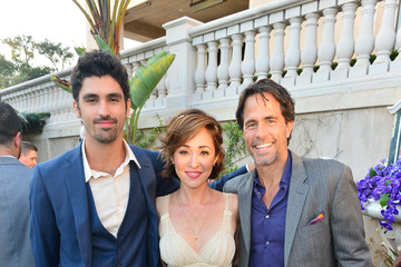 Shawn Christian Tom Madden Hallmark Channel And Hallmark Movies And Mysteries Summer 2019 TCA Press Tour Event - Cocktail Reception