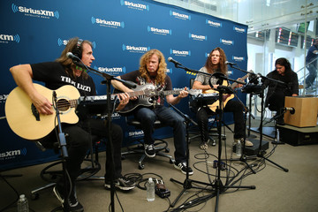 Shawn Drover Celebs Stop by the Sirius Radio Studios