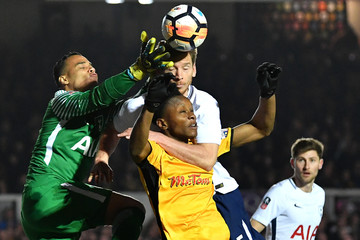 Shawn McCoulsky Newport County v Tottenham Hotspur - The Emirates FA Cup Fourth Round