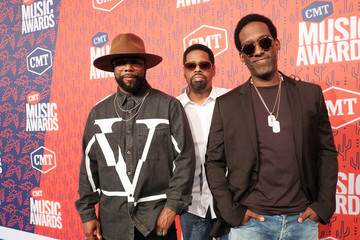 Shawn Stockman 2019 CMT Music Awards - Red Carpet