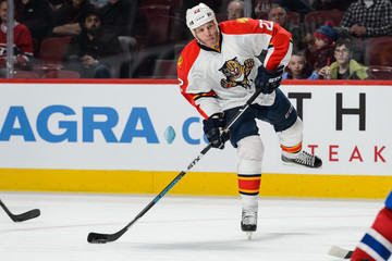 Shawn Thornton Florida Panthers v Montreal Canadiens