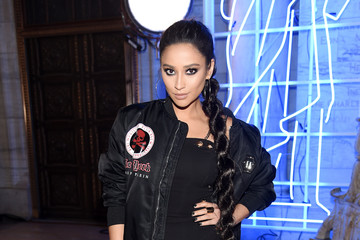 Shay Mitchell Philipp Plein Fall/Winter 2017/2018 Women's And Men's Fashion Show - Front Row