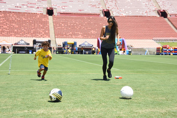 Shay Mitchell Children's Hospital Los Angeles Hosts Inaugural Play LA Fundraiser At The LA Coliseum