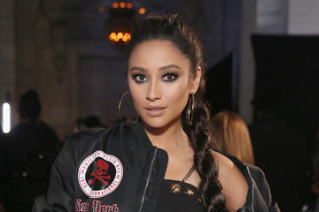 Shay Mitchell Philipp Plein - Front Row - February 2017 - New York Fashion Week: The Shows