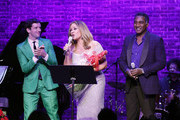 (L_R)  Michael Urie, Vanessa Williams and Norm Lewis perform during  Sheen Center presents Vanessa Williams & Friends: thankful for Christmas with guests Norm Lewis, Michael Urie, and Bernie Williams at Sheen Center for Thought & Culture on November 18, 2019 in New York City.