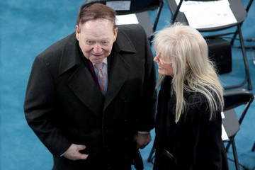 Sheldon Adelson Donald Trump Is Sworn In As 45th President Of The United States