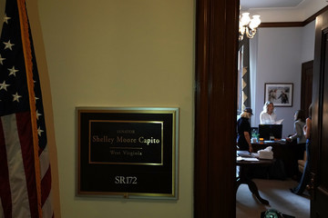 Shelley Moore Capito Former Classmates Of Christine Blasey Ford Gather On Capitol Hill In Show Of Support Over Her Claims Against Brett Kavanaugh