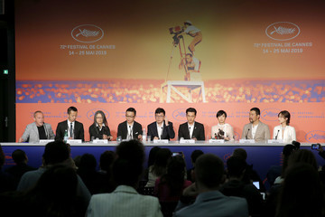 Shenyang 'The Wild Goose Lake (Le Lac Aux Oies Sauvages)' Press Conference - The 72nd Annual Cannes Film Festival