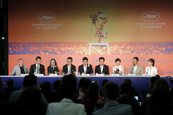 'The Wild Goose Lake (Le Lac Aux Oies Sauvages)' Press Conference - The 72nd Annual Cannes Film Festival