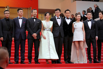 Shenyang 'The Wild Goose Lake (Nan Fang Che Zhan De Ju Hui/ Le Lac Aux Oies Sauvages)' Red Carpet - The 72nd Annual Cannes Film Festival