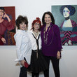 """Sherry Lansing Maxine Smith Paintings 2019 Exhibition """"Wives And Lovers"""" Opening Night Reception"""