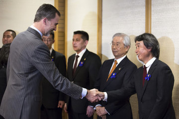 Shigeru Miyamoto King Felipe VI and Queen Letizia Visit Japan - Day 3