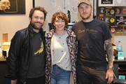 (L-R) Charlie Day, Mary Elizabeth Ellis and Scott Campbell attend Shinola, Scott Campbell and Nathan Kostechko Mother's Day Celebration on May 12, 2018 in Los Angeles, California.