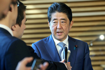 ShinzØ Abe North Korea Says Its Successfully Tested New ICBM Puts All of US Within Range