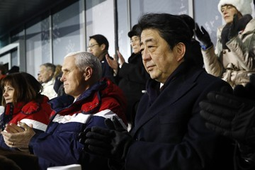 ShinzØ Abe 2018 Winter Olympic Games - Opening Ceremony