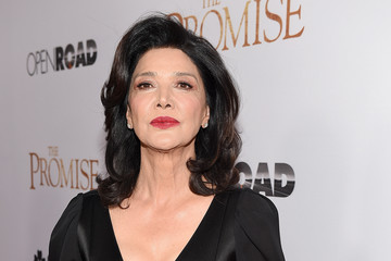 Shohreh Aghdashloo Premiere of Open Road Films' 'The Promise' - Red Carpet