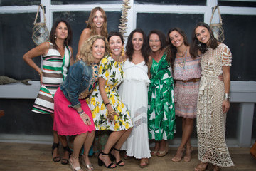 Shoshanna Lonstein Gruss Hamptons Magazine Editor in Chief Samantha Yanks for the Fourth Annual Ladies Night