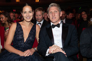 Ana Ivanovic and Bastian Schweinsteiger attend the GQ Men of the Year Award show at Komische Oper on November 08, 2018 in Berlin, Germany.