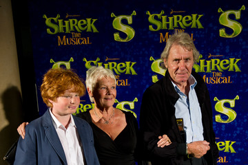 Judi Dench David Mills Shrek The Musical - Press Night