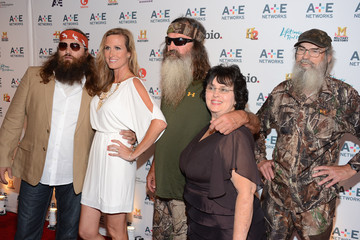 Si Robertson Korie Robertson A+E Networks 2012 Upfront - Arrivals