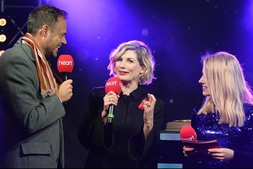 Sian Welby Regent Street Christmas Lights Switch On Photocall
