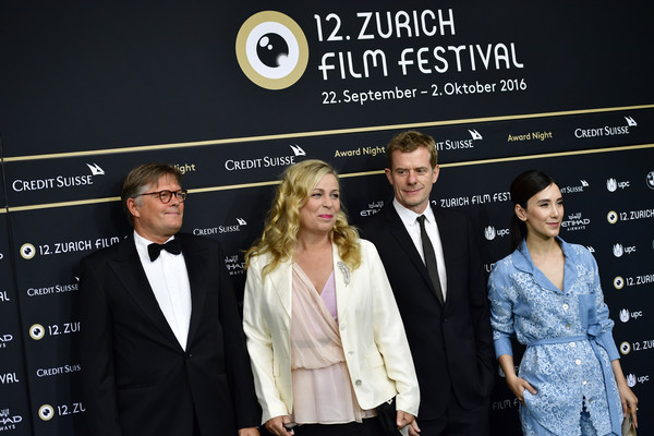 Award Night Green Carpet - 12th Zurich Film Festival