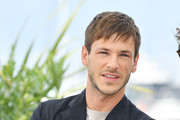"""Gaspard Ulliel attends thephotocall for """"Sibyl""""  during the 72nd annual Cannes Film Festival on May 25, 2019 in Cannes, France."""