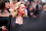 "Caroline Scheufele attends the screening of ""Sibyl"" during the 72nd annual Cannes Film Festival on May 24, 2019 in Cannes, France."