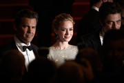 "Actors Josh Brolin, Emily Blunt and Benicio Del Toro leave the Premiere of ""Sicario"" during the 68th annual Cannes Film Festival on May 19, 2015 in Cannes, France."