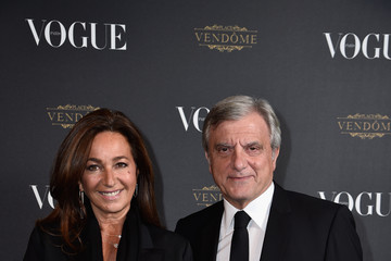 Sidney Toledano Vogue 95th Anniversary Party Arrivals - Paris Fashion Week Womenswear Spring/Summer 2016