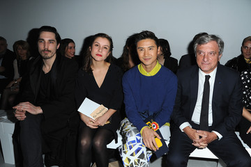 Sidney Toledano Front Row at the John Galliano Show
