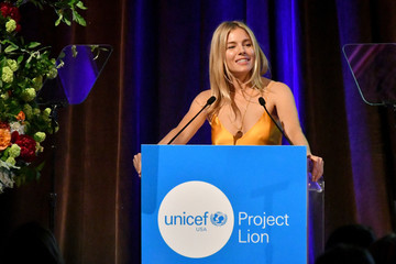 Sienna Miller UNICEF Project Lion Launch 2018