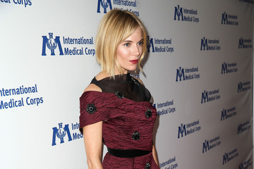 Sienna Miller International Medical Corps' Annual Awards Dinner Ceremony