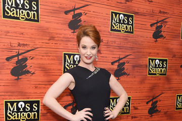 Sierra Boggess 'Miss Saigon' Broadway Opening Night - Arrivals & Curtain Call