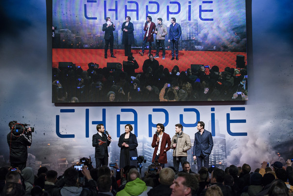 'Chappie' Fan Event in Berlin
