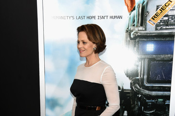Sigourney Weaver 'Chappie' Premieres in NYC