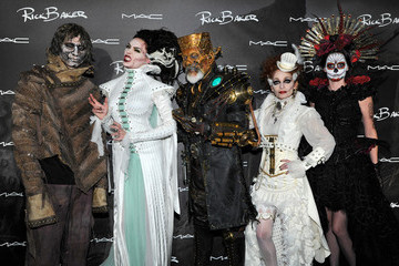 Silvia Baker MAC Cosmetics And Rick Baker's Monster Mash