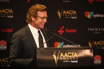 Simon Baker 7th AACTA Awards Presented by Foxtel | Media Room