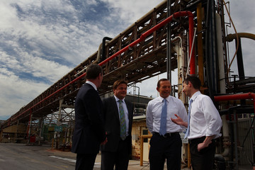 Simon Birmingham Tony Abbott Visits Adelaide as Marginal Seats Threatened
