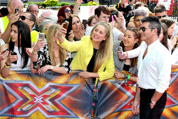 Simon Cowell 'X Factor' Judges Arrive for Manchester Auditions