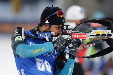 Simon Fourcade BMW IBU World Cup Biathlon 2017 - Day 2