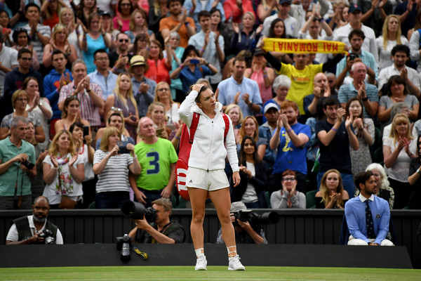 Simona Halep Stays Positive As No.1 Dream Slips Away For The Second Time