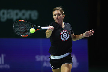 Simona Halep BNP Paribas WTA Finals: Singapore 2016 - Previews