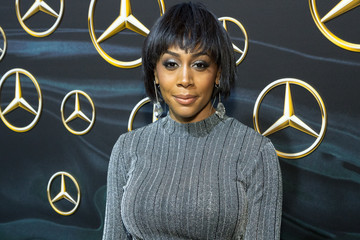 Simone Missick Mercedez-Benz USA's Official Awards Viewing Party - Arrivals