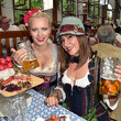 Simone Thomalla Celebrities Hang out at Oktoberfest 2015 - Day 1