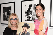 "(EXCLUSIVE COVERAGE) (L-R) Nancy Sinatra and Amanda Erlinger attend the ""Sinatra"" book launch event at Saks Fifth Avenue on July 23, 2015 in New York City."