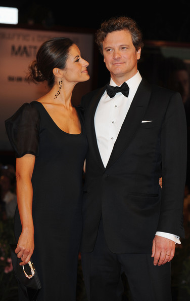 Actor Colin Firth and wife Livia Guigglioli attend the