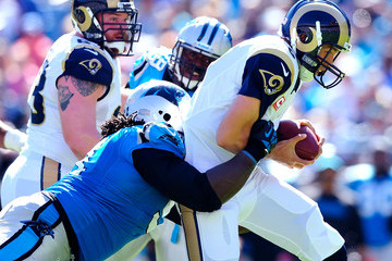Sione Fua St Louis Rams v Carolina Panthers