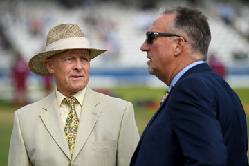 Sir Ian Botham England v West Indies - 3rd Investec Test: Day One