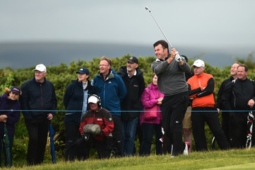 Sir Nick Faldo The Senior Open Championship - Day Two